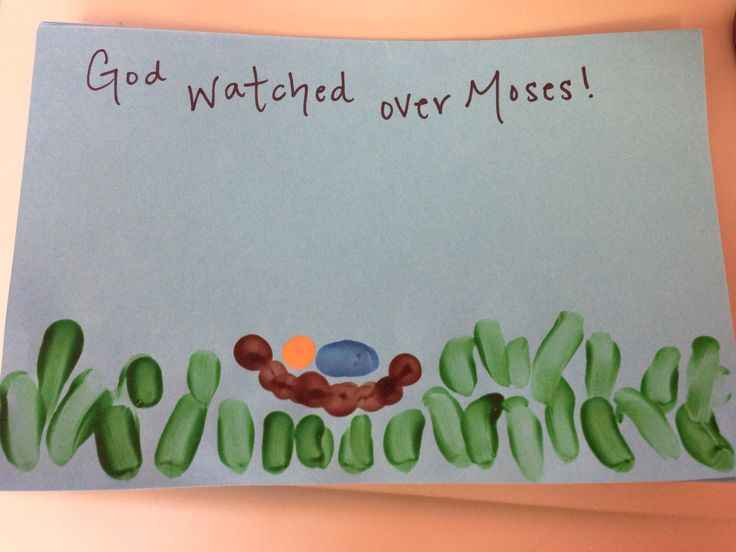 A baby Moses art project I found online... may try this during the quarter.