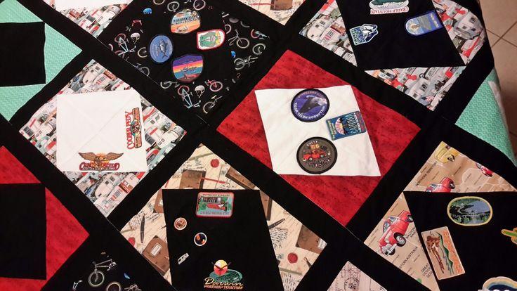 A quilt for the caravan