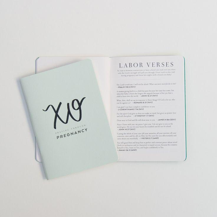 Val Marie Paper Pregnancy Prayer Journal