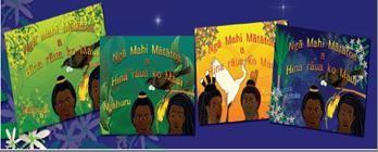 Hina and Maui (set of books) Ataahua pukapuka telling the adventures of Hina & Maui. All in Te Reo.