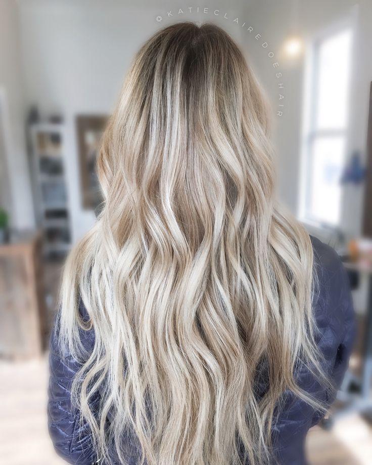 blonde balayage dimensional blonde painted hair ashy blonde vanilla blonde blonde. Black Bedroom Furniture Sets. Home Design Ideas