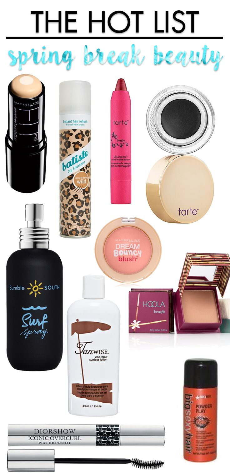 Are you vacationing for Spring Break? Check out these awesome items to have in your luggage!