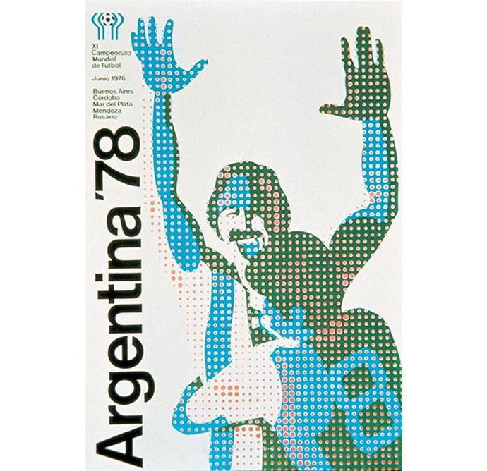 ARGENTINA 78′ WORLD CUP POSTER