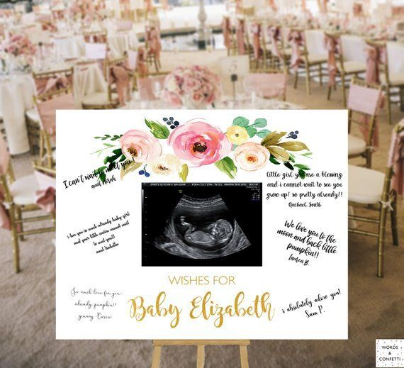 Baby Shower Ideas, Guest Book Alternative, Baby Sh…