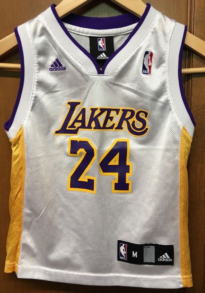 Los Angeles Lakers Kobe Bryant Jersey Youth Medium Adidas from