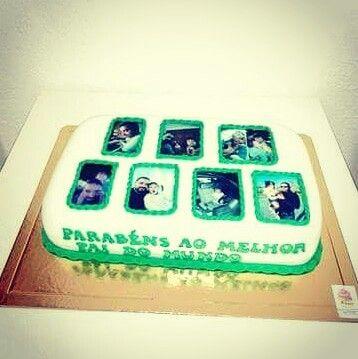 Um bolo para o melhor pai do mundo...