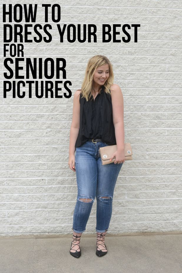 How to dress your best for senior pictures! Exactly what you should wear, and how you should style your outfit. Solids are everything, and the most flattering... read more at TheLittleLaceDress.com