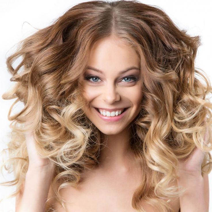 nice Эффектная химическая завивка волос Крупные локоны (50 фото) — Плюсы и минусы укладки