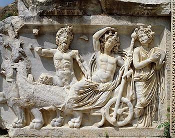 Roman relief at Perge, Turkey.