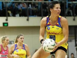 Katarina Cooper in action for the Central Pulse (Source: Supplied by Photosport)