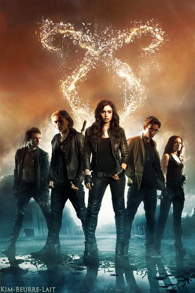City of bones : the mortal instruments I haven't seen this one before.. LOVE IT! Is it weird that i'm still fangirling about the movie even though it did terrible? I still loved it!