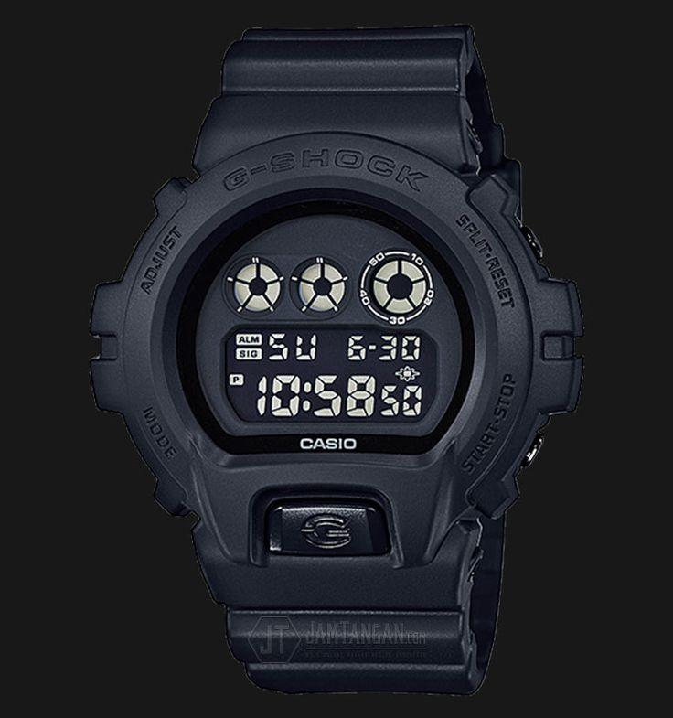 Beli jam tangan Casio G-Shock DW-6900BB-1DR - Water Resistance 200M Black Resin Band - Daftar Harga jam termurah, review, spesifikasi lengkap Indonesia di Jamtangan.com