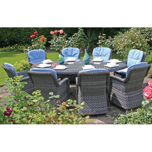 Rattan outdoor dining set. 16 best images about Rattan Garden Furniture on Pinterest