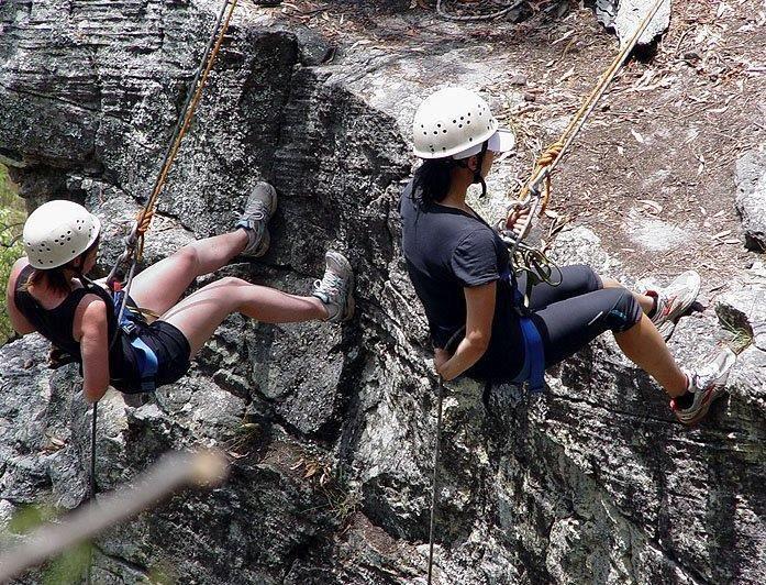 Abseiling Murphys Creek Adventures