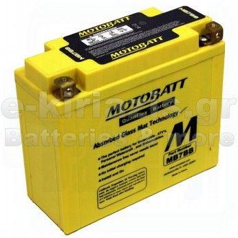 Μπαταρία μοτοσυκλετών MOTOBATT MB7-B - 12V 9(10HR)Ah - 150CCA εκκίνησης