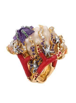 RosamariaGFrangini   ModernJewellery   Dior Ring by Victoire de Castellane