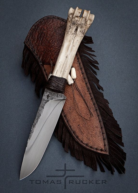 Custom Handmade Knives - Tomas Rucker