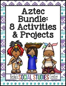 105 best beckys products images on pinterest middle school aztecs unit 8 activities and projects sciox Images
