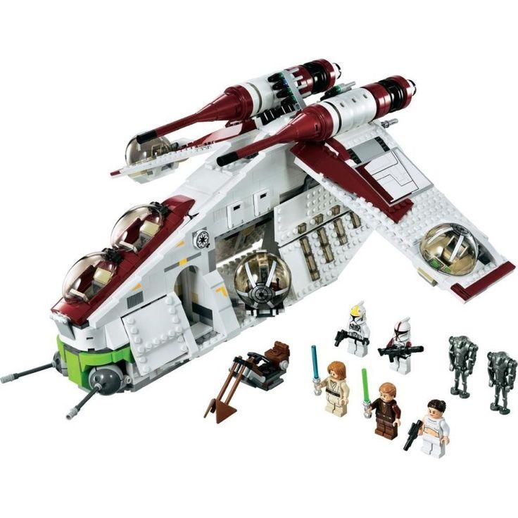 LEGO Star Wars 75021 Republic Gunship   Kids Cool Toys UK