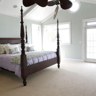 Owneru0027s Bedroom   Echelon Custom Homes Sherwin Williams Sea Salt: Benjamin  Moore Match Gray Cashmere