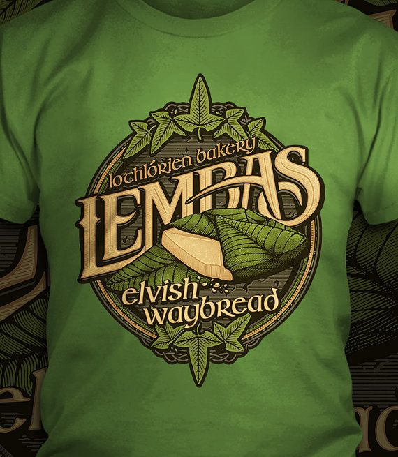 Lembas Bread  The Lord of the Rings T-Shirt  by CoryFreemanDesign
