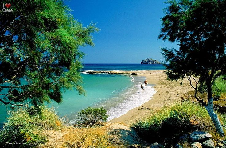 One of the most beautiful beaches of eastern Crete!
