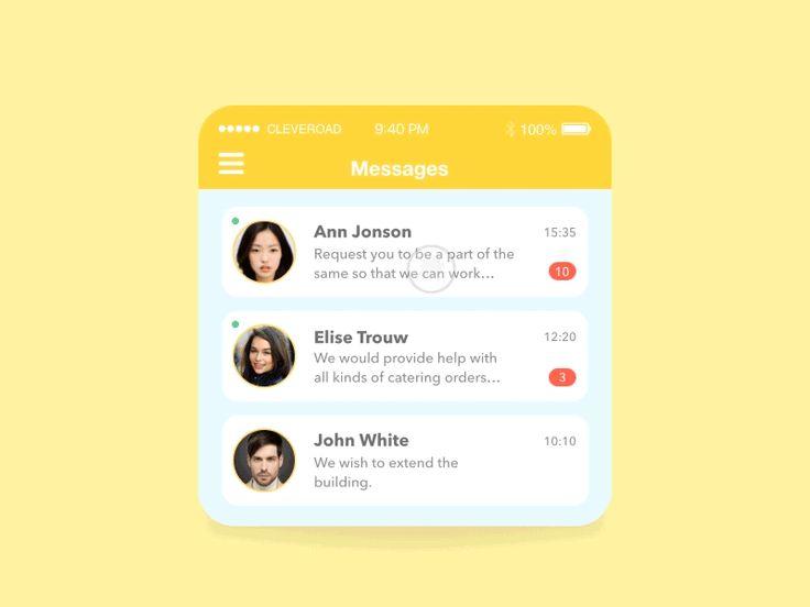 UI Interactions of the week #17 — Muzli -Design Inspiration — Medium