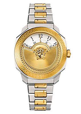 Versace - Dylos Icon Armbanduhr Zweifarbig