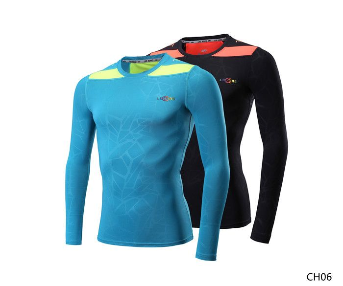 "Teketkom - Buy ""Exercise Bodybuilding Tops Shirt Men Compression Tight T-shirt Long Sleeves Fitness Base Layer Weight Lifting Wear"" for only 15 USD."