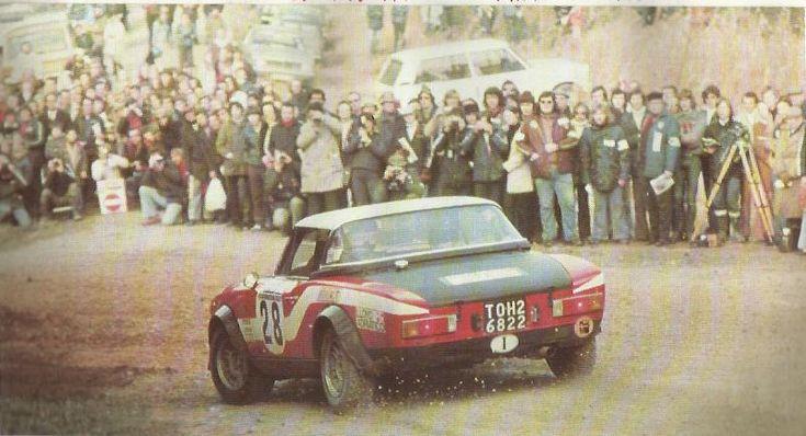 Maurizio Verini/Francesco Rosetti, 1975 Rallye Sanremo - Fiat 124   VWVortex.com - The Official Vintage rally photo thread!