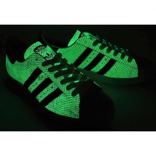 Top-Rated Mens Atmos x Adidas Superstar 80s Snake GID For $108.00 Go To: http://www.jeremyscottvip.com
