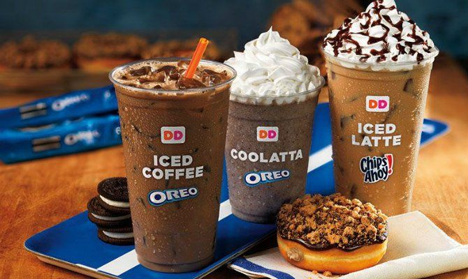 Dunkin' Donuts Puts Chips Ahoy- and Oreo-Flavored Coffee Drinks on the Menu