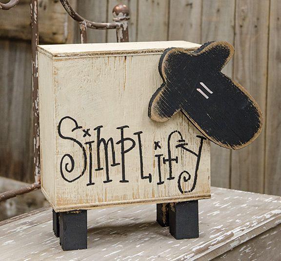 KP Creek Gifts - Sheep Box