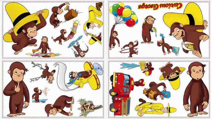 Free Curious George Clip Art | Curious George Graphics Code | Curious George Comments & Pictures