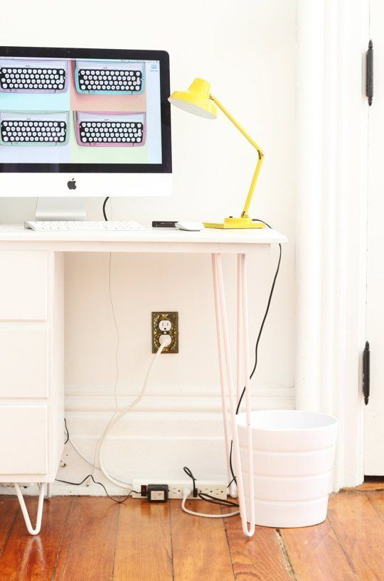 How To Hide Home Wires — Apartment Therapy Tutorials