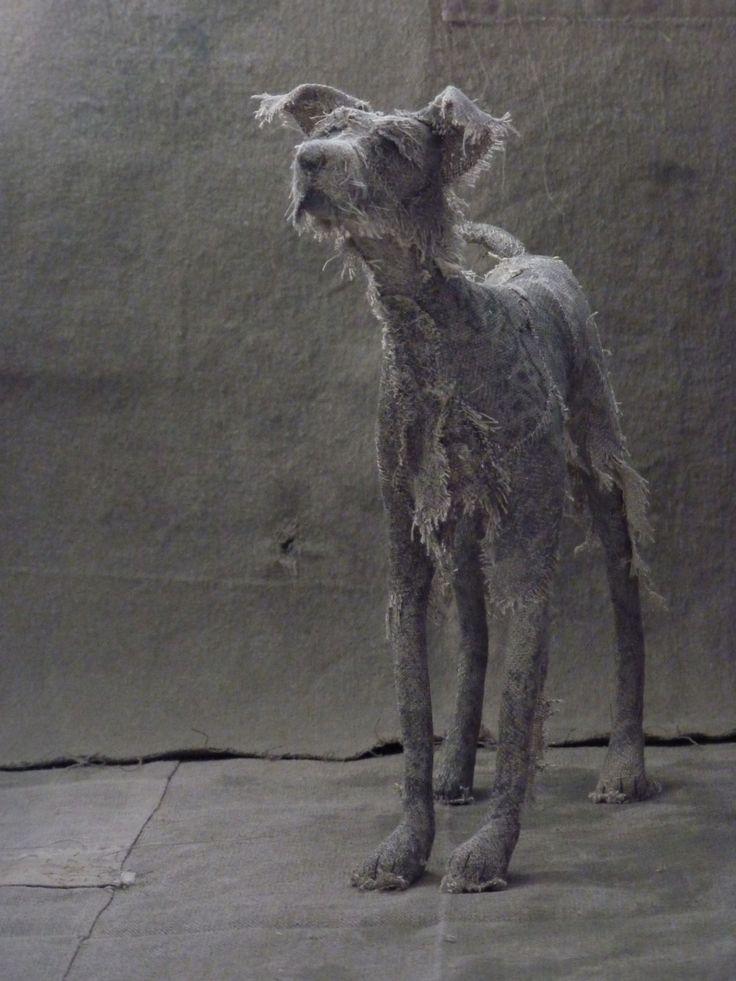 Textile sculptures by Holy Smoke