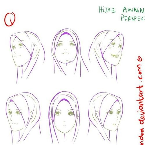 Hijab awning - Perspectives by Lavendra