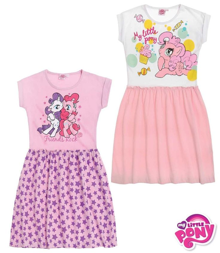 My Little Pony HASBRO Girls Summer Dress 3-10 years NEW 2016