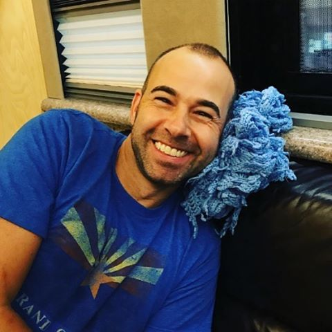 Murr with is blackie ❤️