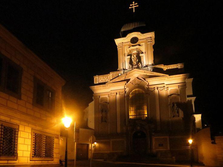 Church of St. John of Nepomuk in Prague, Czech Republic
