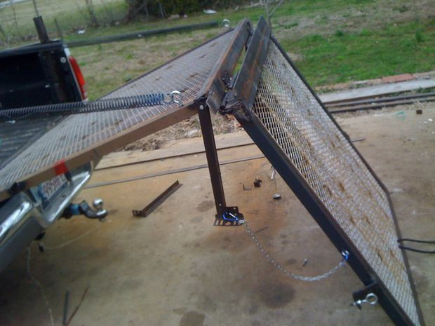 Picture of Help with some engineering issues on a folding tail gate ramp?