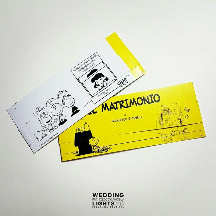 #salerno #wedding #peanuts #invito