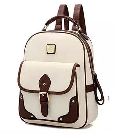 Backpacks Rucksacks PU Leather School