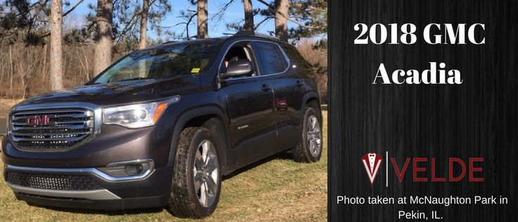 2018 GMC Acadia Perfect family SUV. Seats up to 7 passengers.   17% off MSRP  Visit us at Veldegm.com or call us at 309-346-1181
