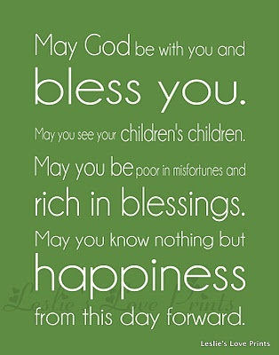 Irish Blessings For St Patrick S Day