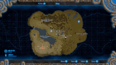 [Zelda] [E3 2016] Breath of the Wild is Huge. The plateau area shown is just a small part of the map.