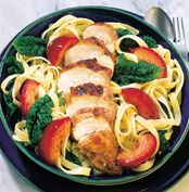 Fire Glazed Chicken with Spicy Plums and Pasta Recipe - Quick and easy at countdown.co.nz