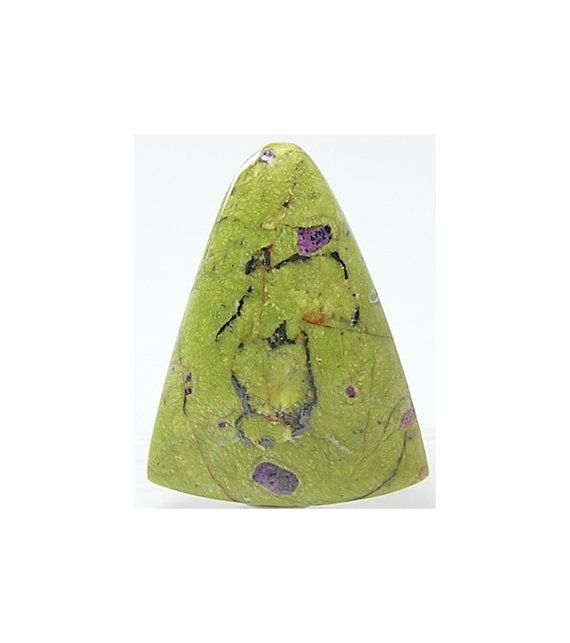 Pistachio Green Serpentine with rare Purple by FenderMinerals