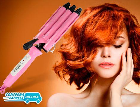 Offerta shopping: Piastra capelli ondulati | GROUPALIA