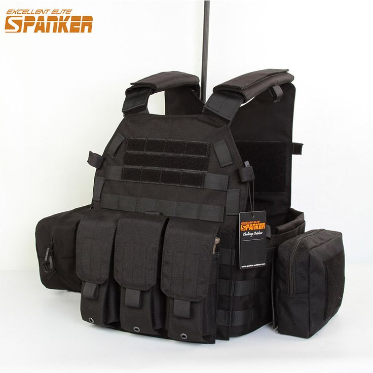 Spanker Outdoor Hunting Vests Tactical 6094 Vest Suit 1050D Military Nylon Unloading Waistcoat Tactical Airsoft Colete Tactique Click visit to check price #sportwear